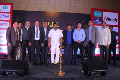 Shri T. Srinivasa Yadav with IPJA team-done
