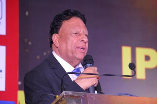 Mr Rana addressing the audience