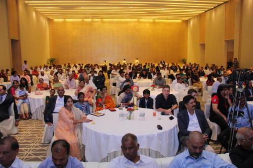 Engrossed audience