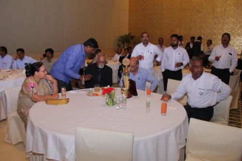 Dignitaries at the event